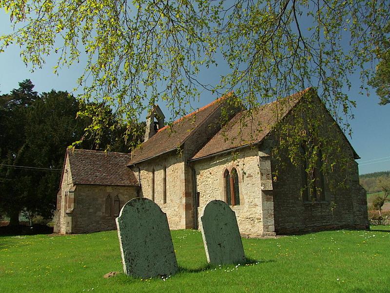 Church of St.Giles,Pipe Aston.