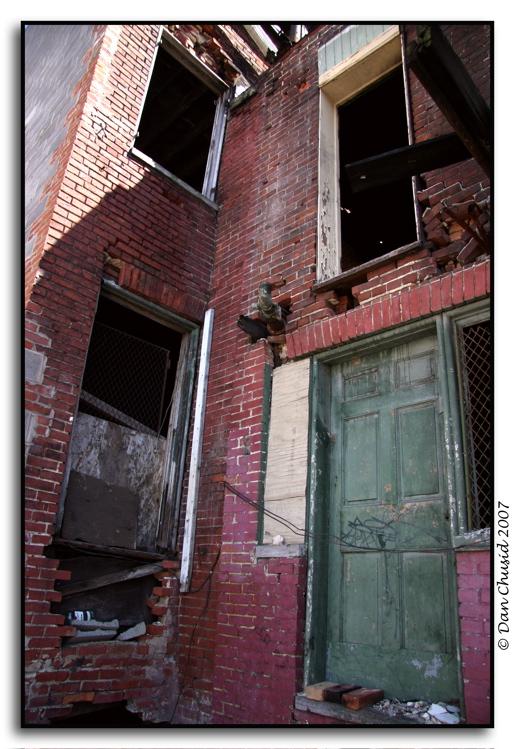 Three Bricks In A Doorway