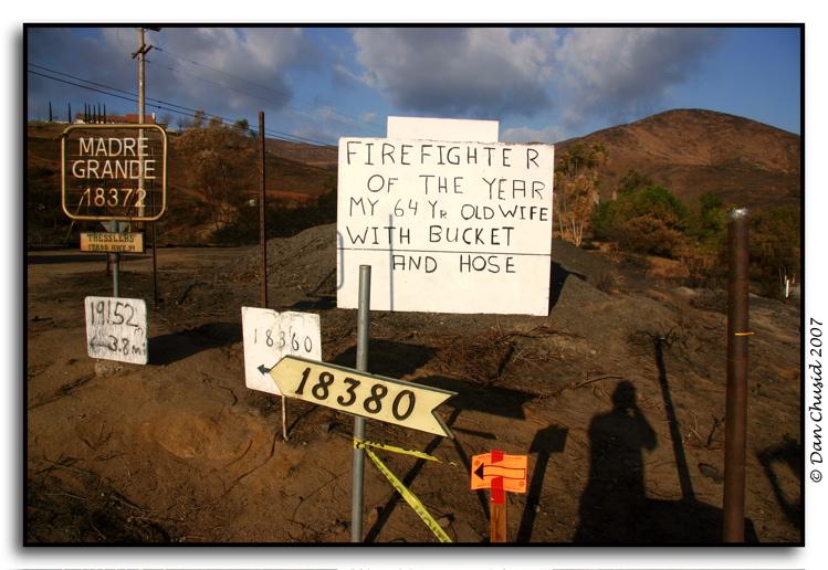 Harris Fire Zone