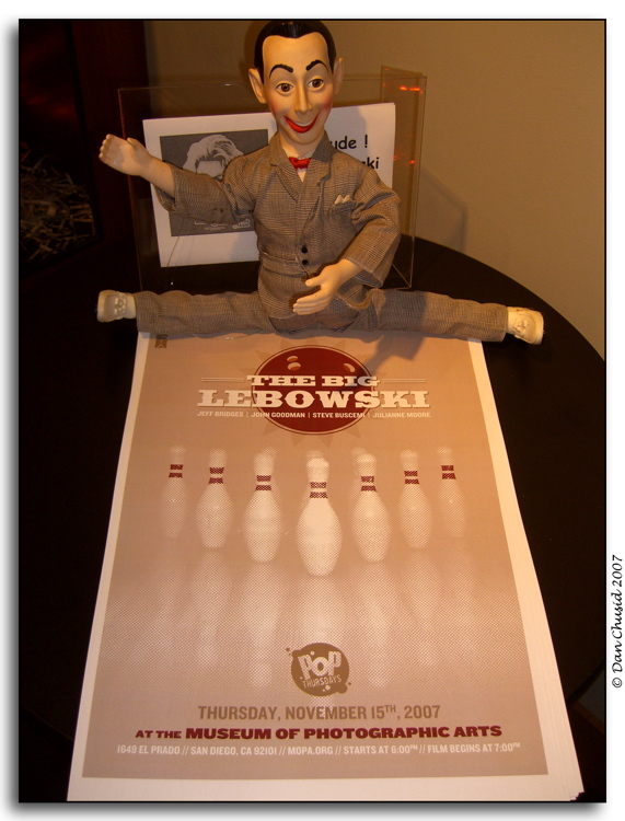 Pee Wee Meets The Big Lebowski