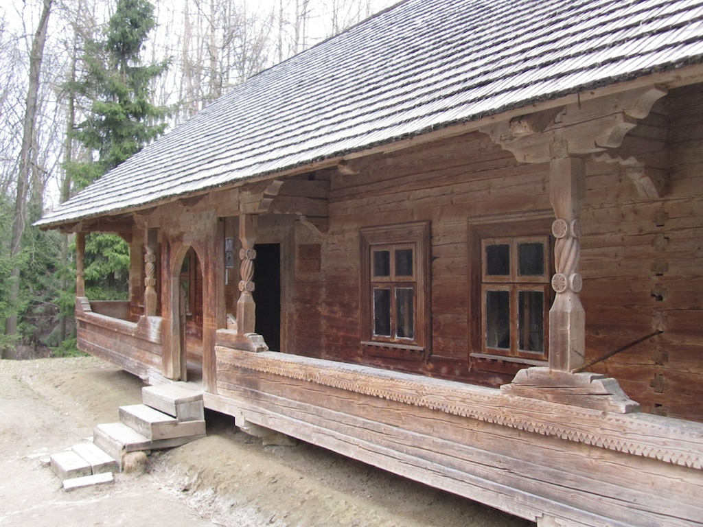 a c1910 dwelling from the Lviv region...
