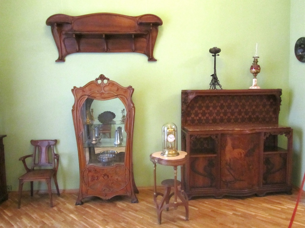 ...as well as Art Nouveau / Secession works from elsewhere in Europe