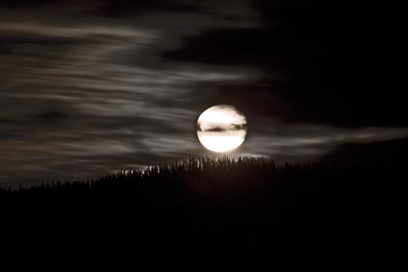 Moon over Francois
