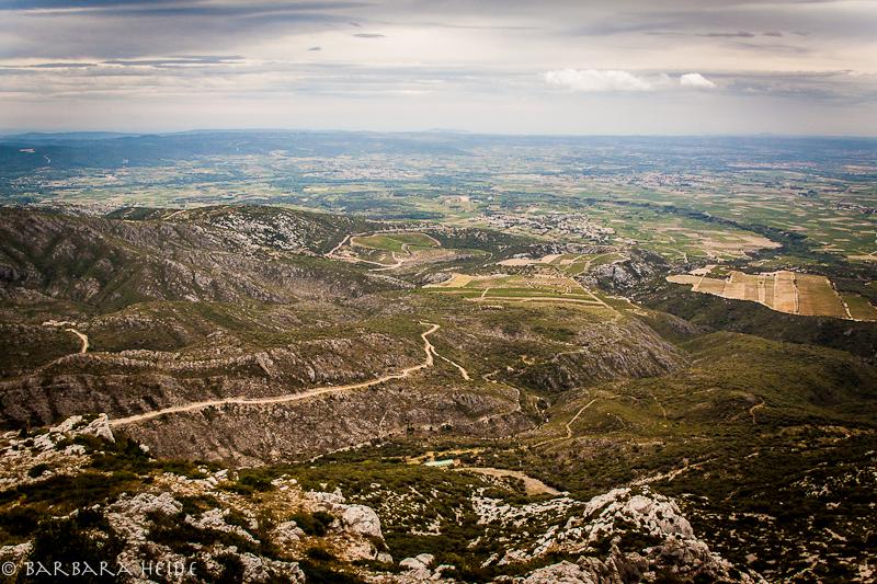 Mont Saint Baudile view towards Sète