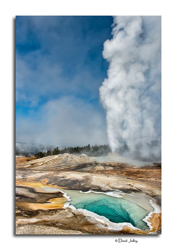 Heart Spring and Lion Geyser