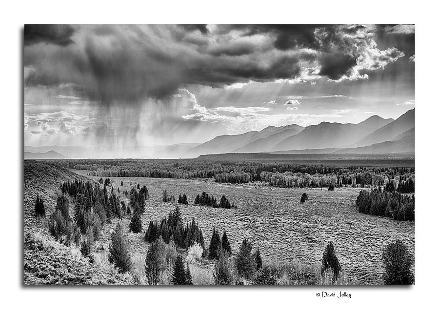 Passing Storm, Teton Range