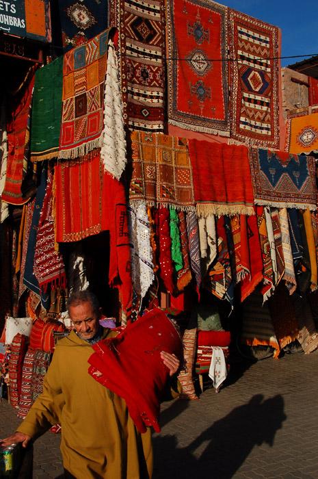 Carpet Market, Marrakech