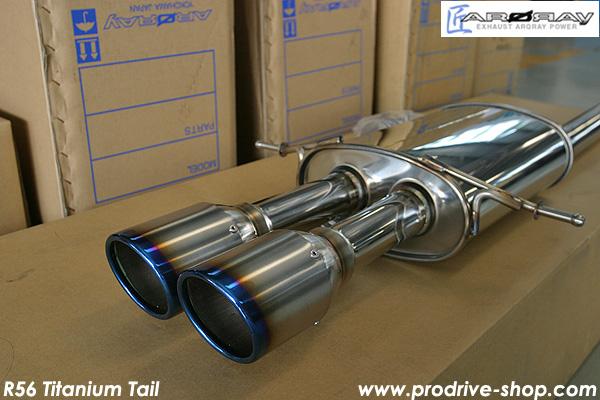 ARQRAY R56 Turbo - Ti Tail