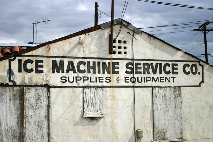Ice Machine Service.