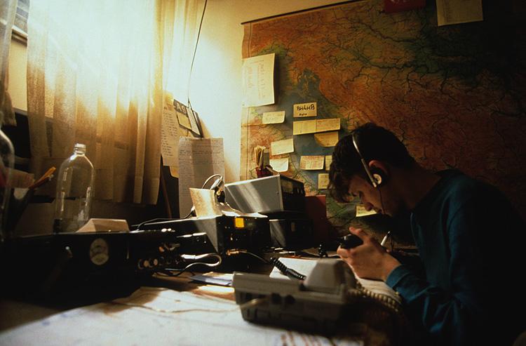 Ham radio operator, Tuzla