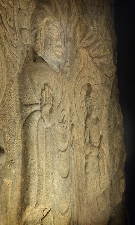 Stone figure - Buyeo National Museum