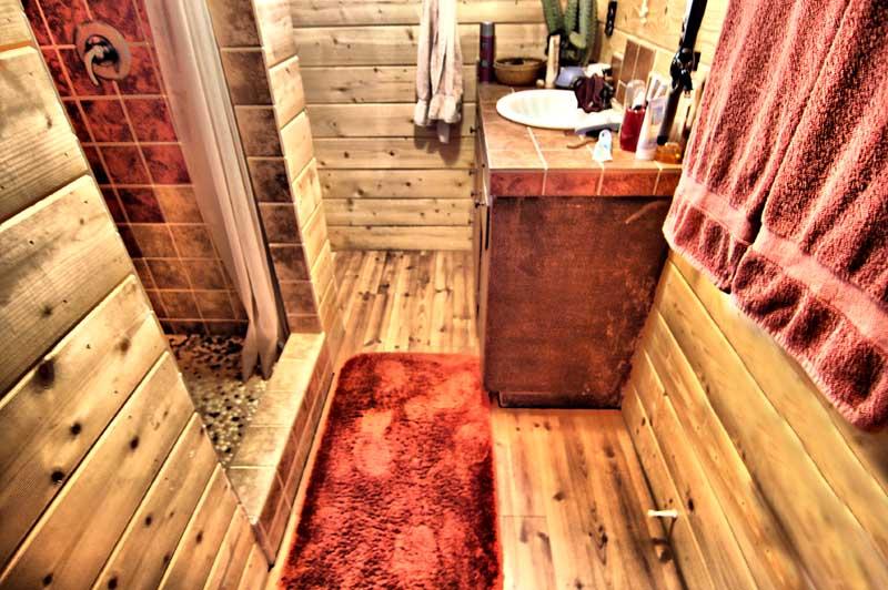 The Little Bathroom.