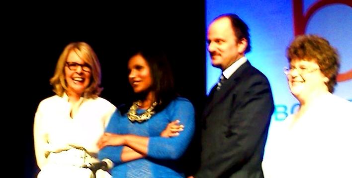 Diane Keaton, Mindy Kaling, Jeffrey Eugenides, CharlaineHarris.jpg