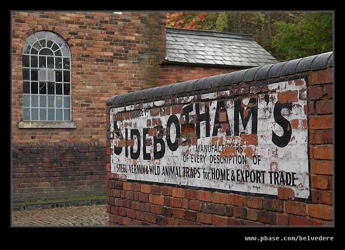 Sidebothams & Chapel, Black Country Museum