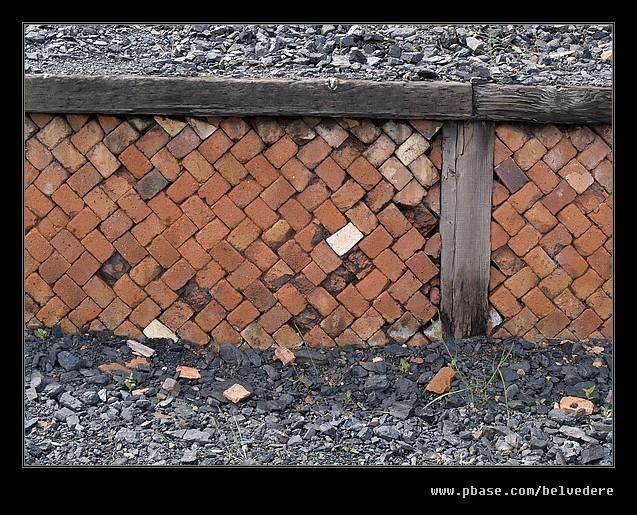 Herringbone Brickwork, Black Country Museum