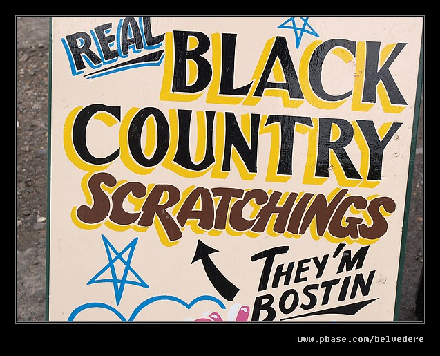 Scratchings Hoarding, Black Country Museum