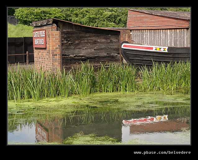 Canal Dock Reflections, Black Country Museum