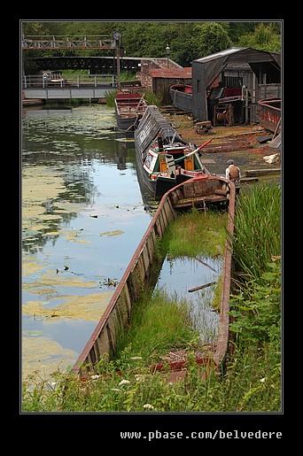 Castle Fields Boat Dock #2, Black Country Museum
