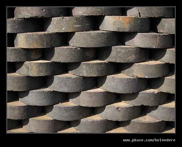 Bluebrick Pattern, Builders Yard, Black Country Museum