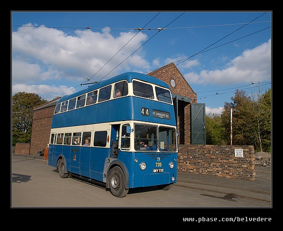 Trolley Bus, Black Country Museum
