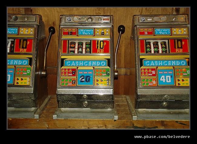 Fun Fair Slot Machines, Black Country Museum