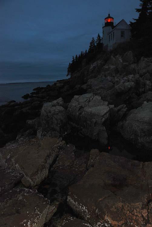 Bass Harbor Lighthouse in Last Light...