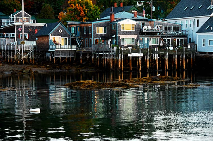 Sunrise in Stonington Harbor
