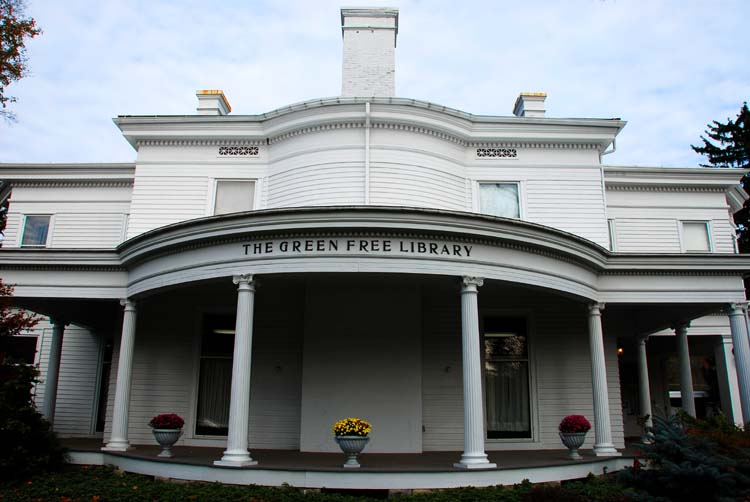 How About a Little Wellsboro Architecture, Starting with the Library?