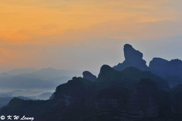 Dawn at Danxia