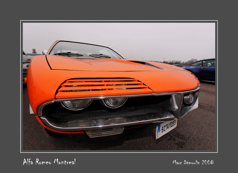 ALFA-ROMEO Montreal Vincennes - France