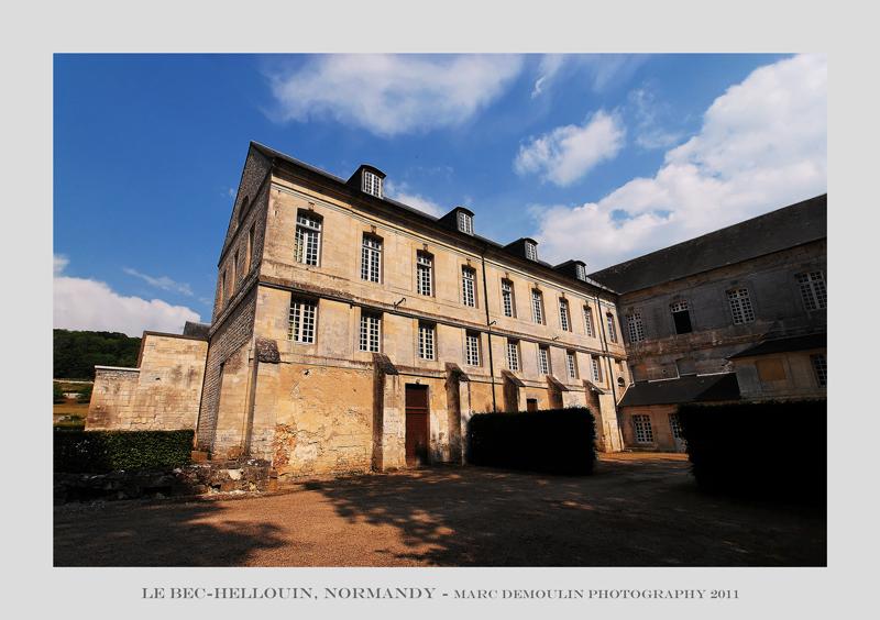 Normandy, Le Bec-Hellouin