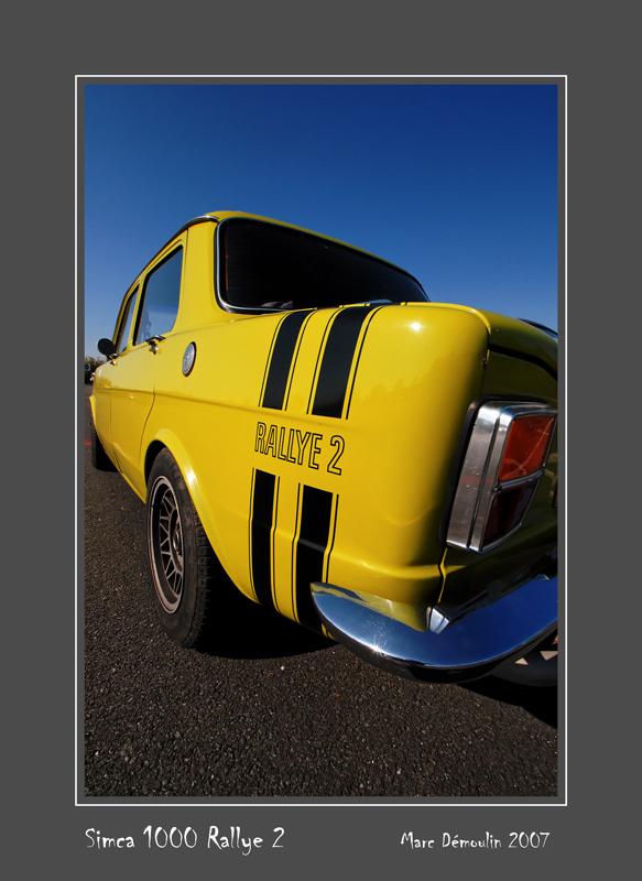 SIMCA 1000 Rallye 2 Poitiers - France