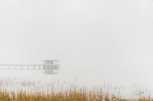 Powderhorn Lake In Fog 32322