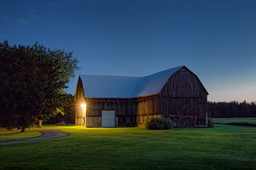 Barn At First Light 20100813