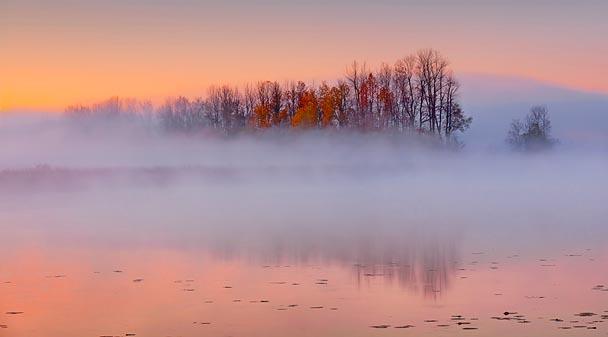 Otter Creek At Sunrise 23889-91
