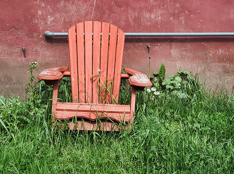 Red Chair 20110528