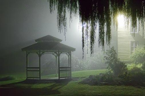 Gazebo In Night Fog 20110921