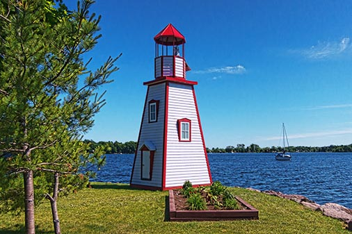 Gananoque Lighthouse 20120614