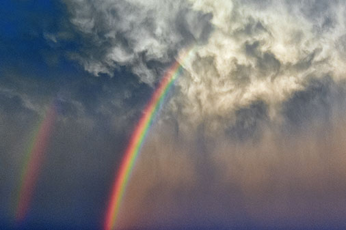 Rainbow In The Clouds 01047