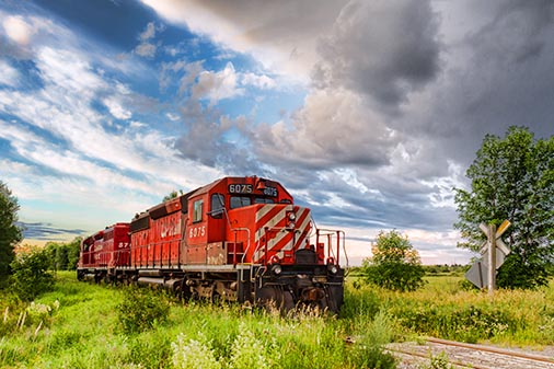 CP Rail Locomotive 6075 (24686)