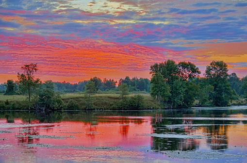 Rideau Canal Sunrise 25442-3