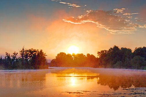 Rideau Canal Sunrise 20120808