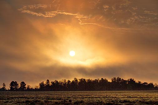 Clouded Sunrise 25597