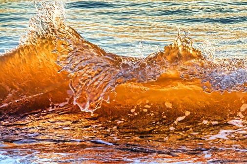 Breaking Wave At Sunrise 20120912