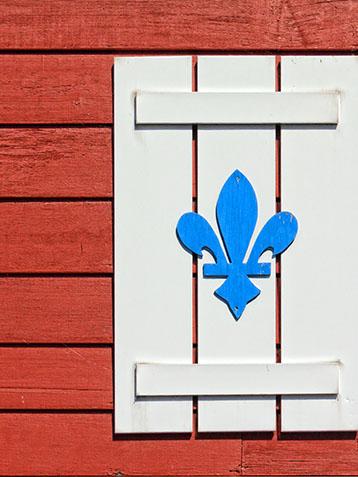 Fleur-de-lis Shutter 20120916