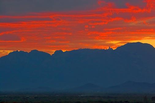 Sunset Over Kitt Peak 74518