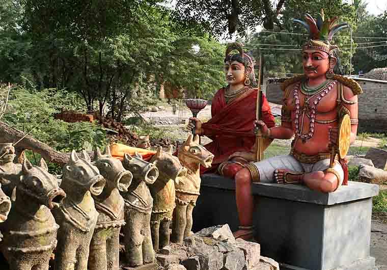 Ayyanar temple near Pondichery. http://www.blurb.com/books/3782738