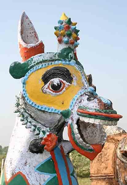 Madurai Veeran temple near Ralur. http://www.blurb.com/books/3782738