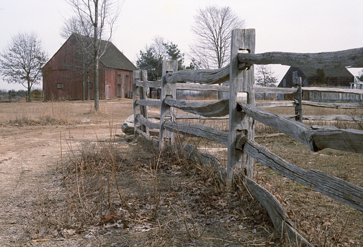 Barn & Fence