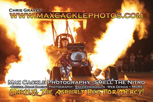 Fire Burnout Promo Flyer